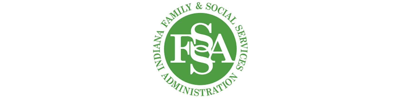 State of Indiana Family & Social Services Administration Logo